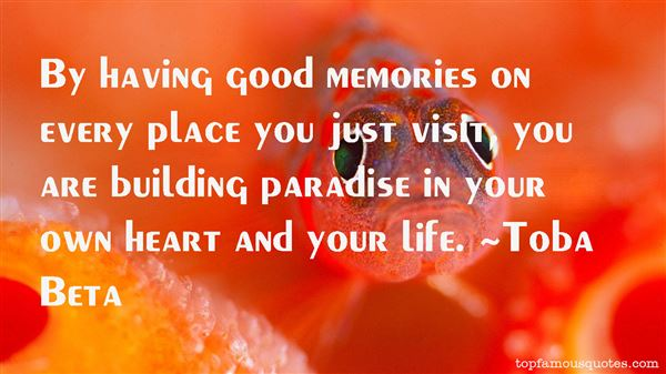 Quotes About Good Memories