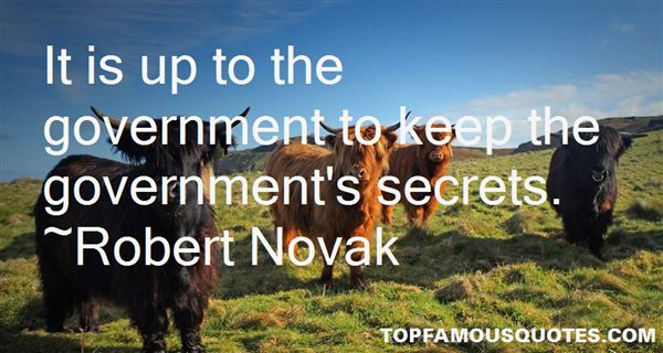 Quotes About Government Secrets