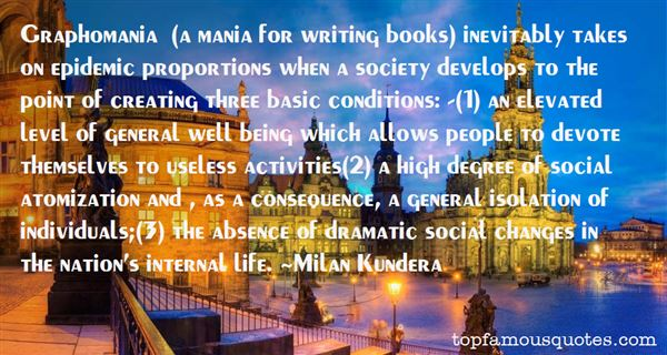 Quotes About Graphomania