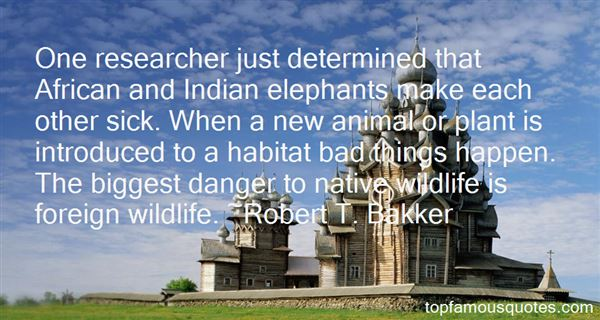 Quotes About Habitat