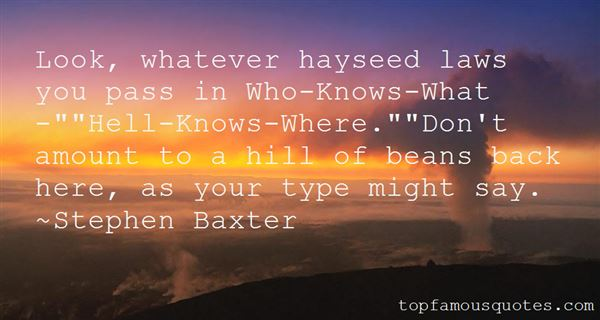 Quotes About Hayseed