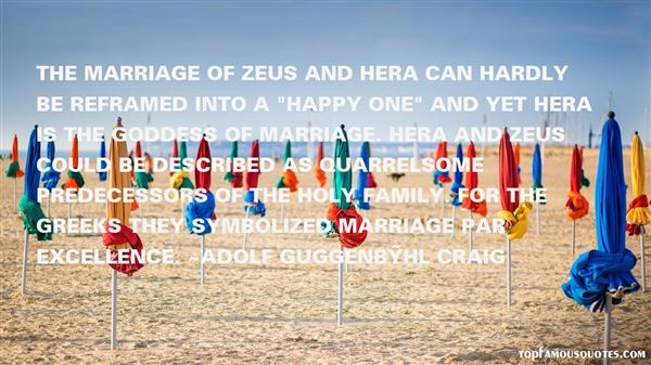 Quotes About Hera The Goddess