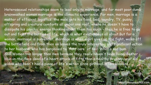 Quotes About Heterosexual Marriage