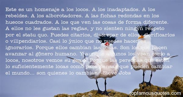 Quotes About Homenaje