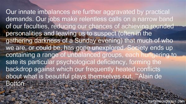 Quotes About Imbalance