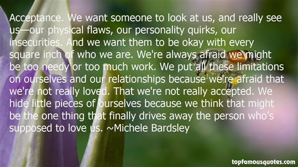Quotes About Insecurities In Relationships