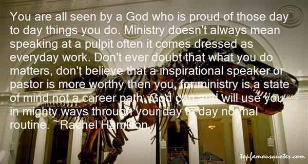 Quotes About Inspirational Ministry