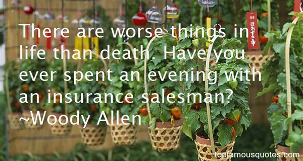 Quotes About Insurance Salesman