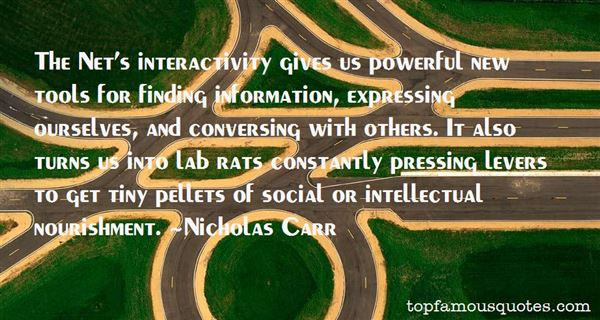 Quotes About Interactivity