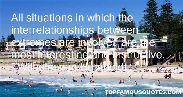 Quotes About Interrelationships