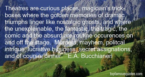 Quotes About Intrigue