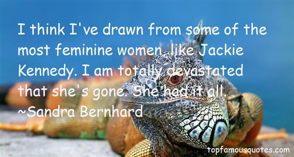 Quotes About Jackie Kennedy