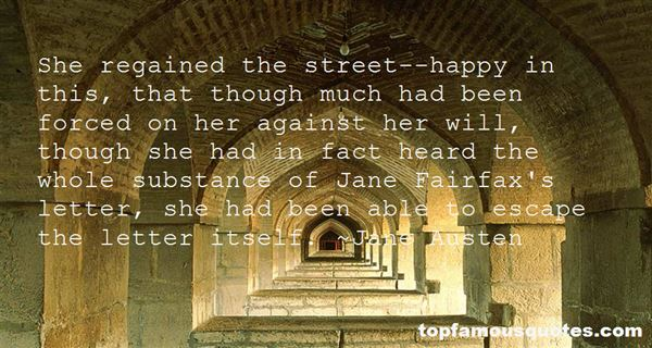 Quotes About Jane Fairfax