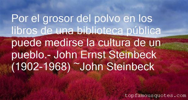 Quotes About John Steinbeck