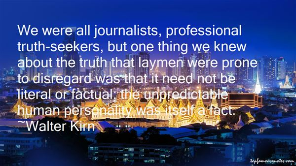 Quotes About Journalists