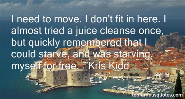 Quotes About Juice Cleanse