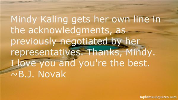 Quotes About Kaling