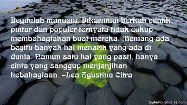 Quotes About Karunia