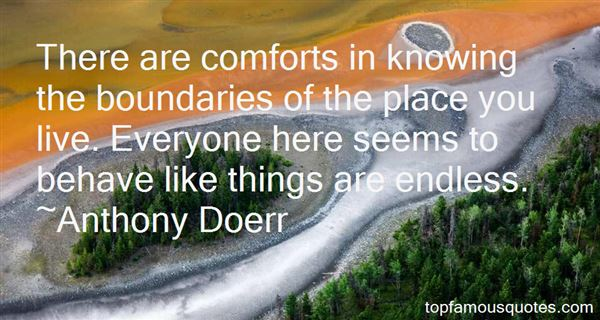 Quotes About Knowing Boundaries