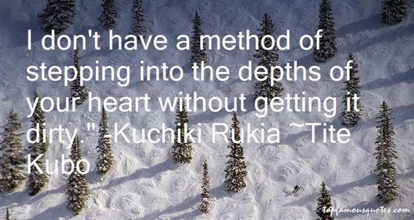 Quotes About Kuchiki