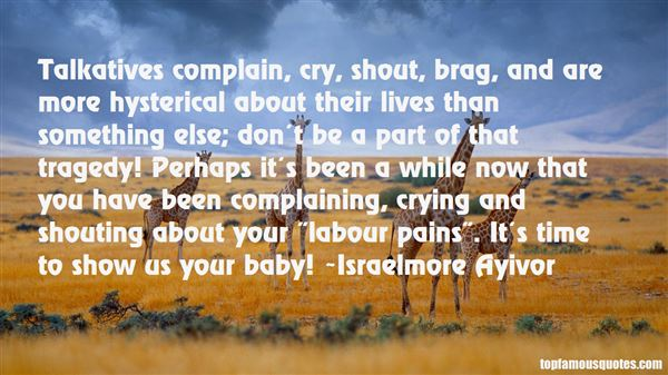 Quotes About Labour Pain