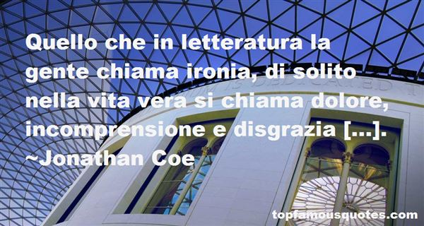 Quotes About Letteratura
