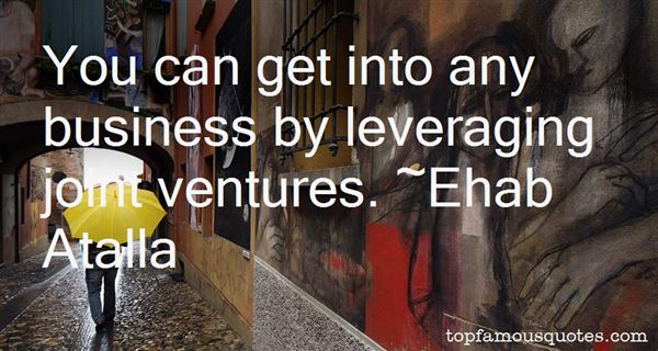 Quotes About Leveraging