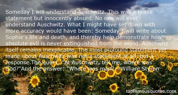Quotes About Life In Auschwitz