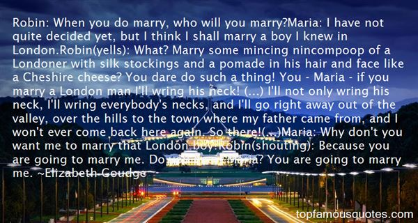 Quotes About Londoner