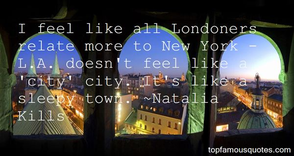 Quotes About Londoners