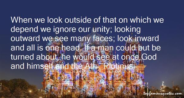 Quotes About Looking Outward