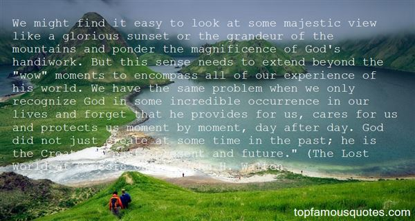 Quotes About Magnificence