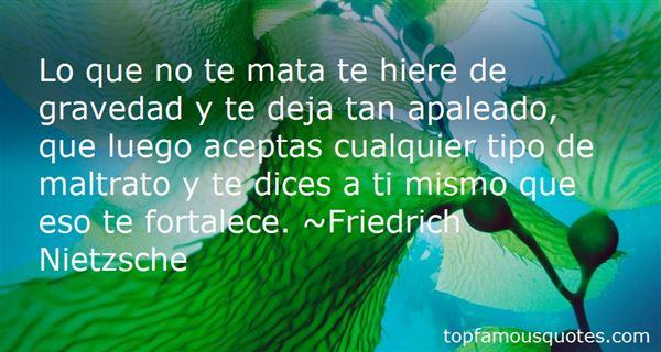 Quotes About Maltrato