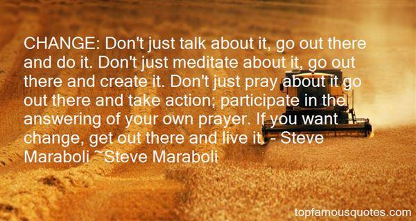 Quotes About Maraboli