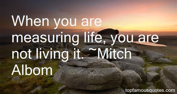 Quotes About Measuring Life
