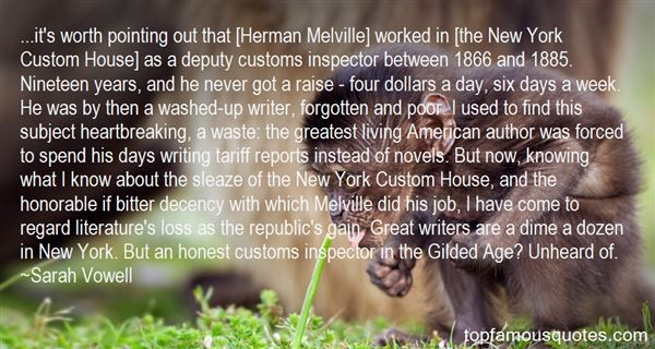 Quotes About Melville Literature
