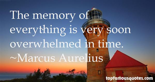 Quotes About Memory
