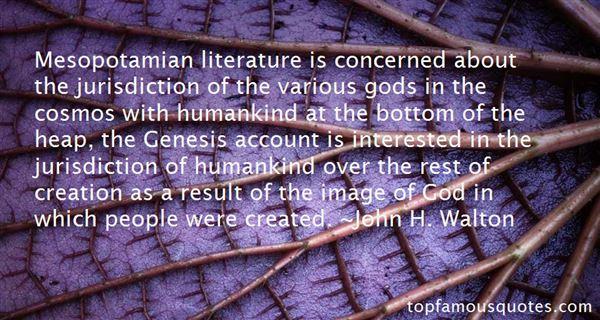 Quotes About Mesopotamia