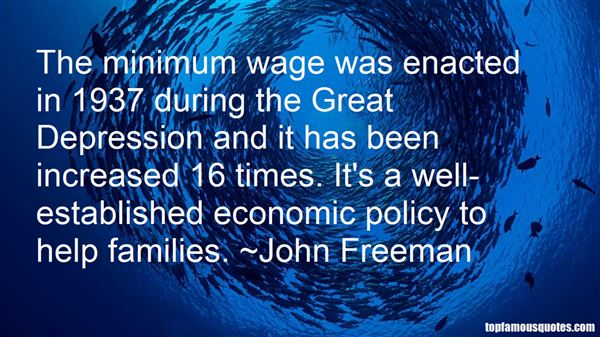 Quotes About Minimum Wage Increase
