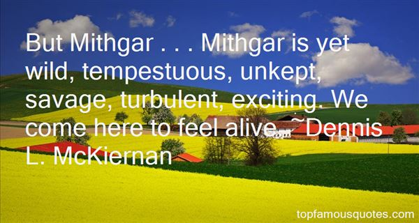 Quotes About Mithgar
