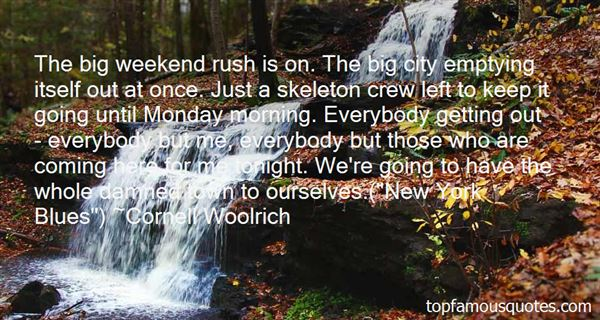 Quotes About Monday Blues