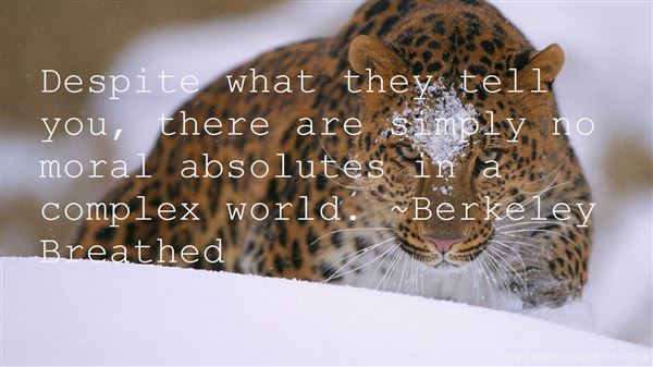 Quotes About Moral Absolutes