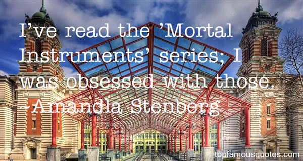 Quotes About Mortal Instruments