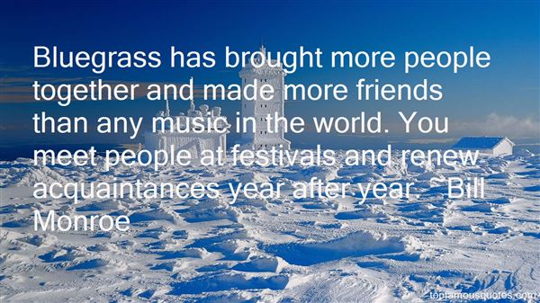 Quotes About Music Festivals