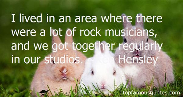 Quotes About Music Studios