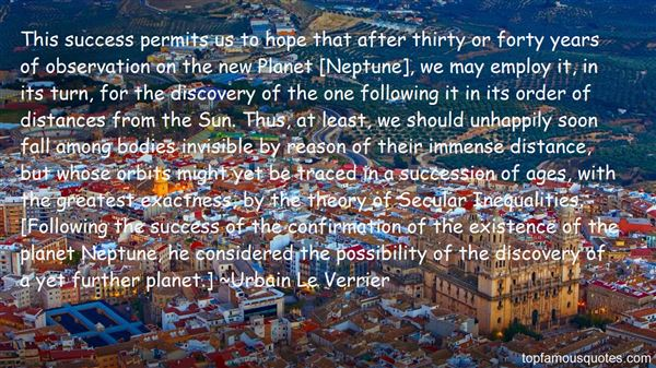 Quotes About Neptune The Planet