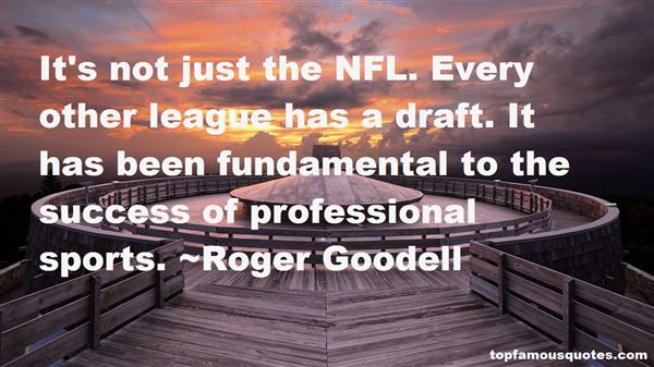 Quotes About Nfl Draft