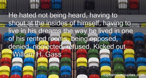 Quotes About Not Being Denied