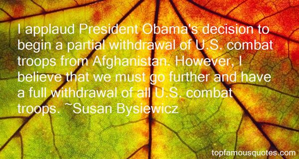 Quotes About Obama Afghanistan