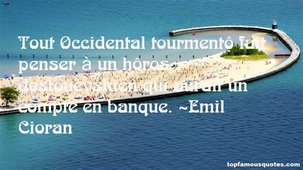 Quotes About Occident
